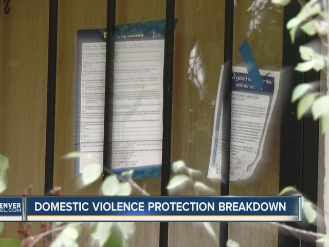 Domestic violence safe house appears closed