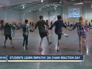 Chain reaction day teaches kindness, empathy