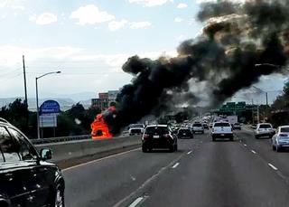 Crashes wreak havoc on Denver-area freeways