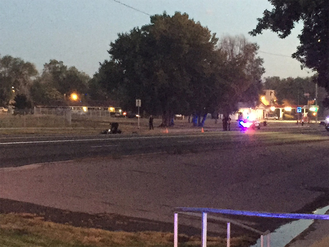 1 hospitalized after moped crash in Wheat Ridge