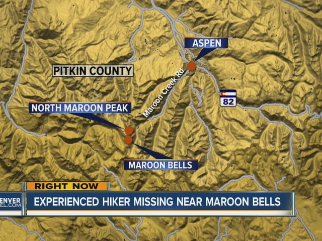 Search underway for missing climber near Aspen