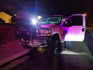 Police chase suspected truck thief in Thornton