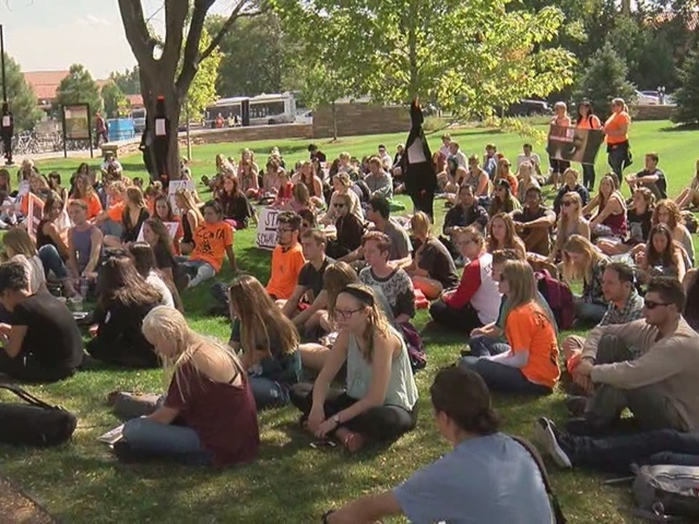 Students address sexual assault violence