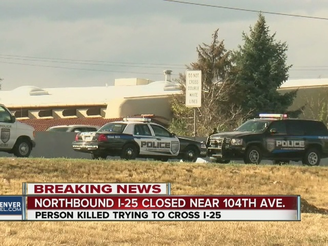 Traffic backup near Thornton after deadly crash