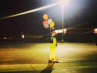 Where creepy clowns are being spotted in the US