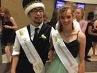 Homecoming King gives up crown at dance