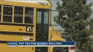 Surplus pot taxes will go to bully prevention