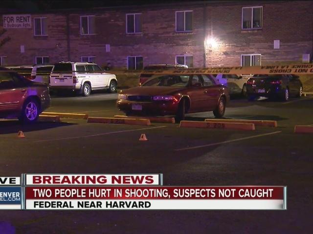 2 shot in southwest Denver; none in custody