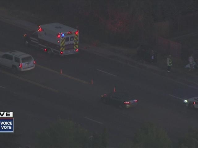 Deadly crash on Parker Road