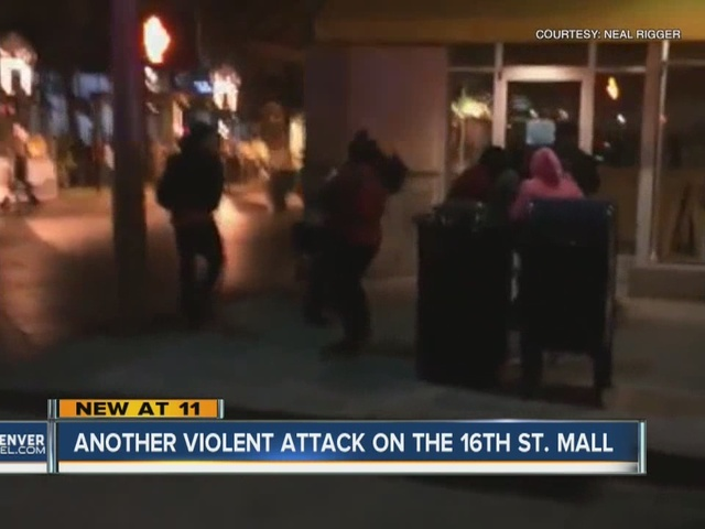 More violence on 16th Street Mall