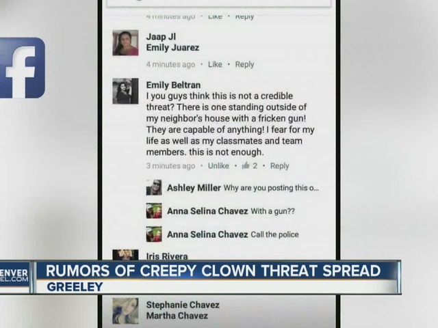 PD: 'Clown' threat led to school threat rumors