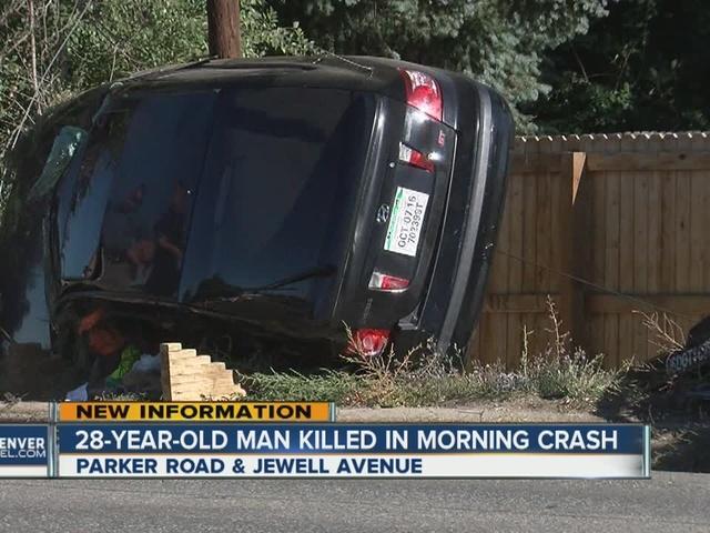 Unbelted driver dies in rollover crash