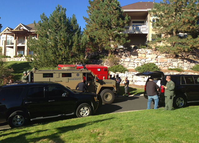 Swat swarms neighborhood after shots fired call