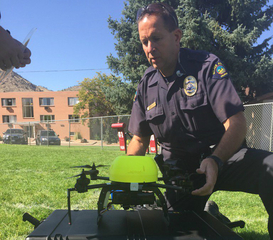 Golden PD testing drones amid privacy concerns