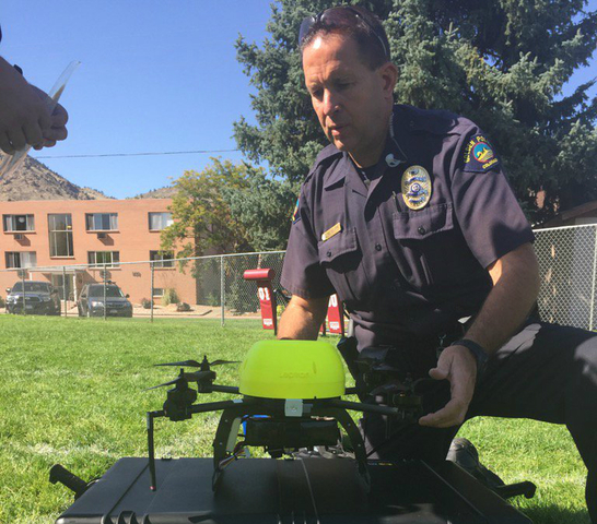 Golden police start new drone program