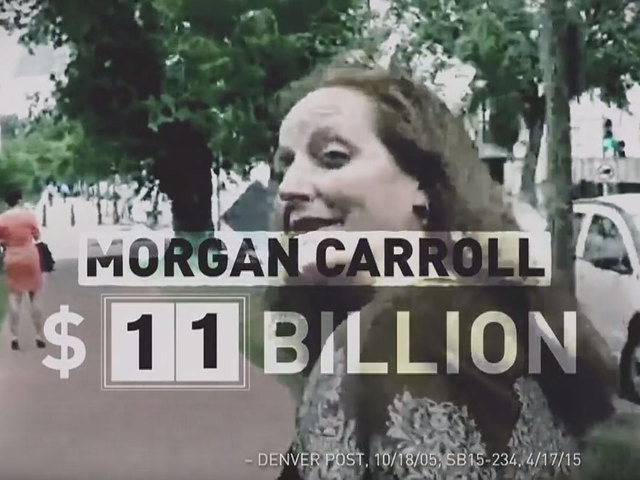 Misleading NRCC ad says Morgan Carroll 'racked up $11 billion in new…