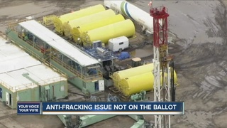 Anti-fracking measures miss deadline to appeal