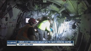 Tunnel for Ft. Collins water nears completion