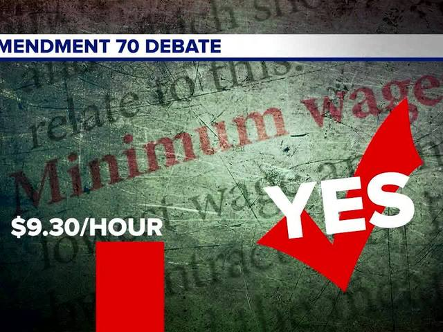 Amendment 70: Should minimum wage be $12 in 2020?