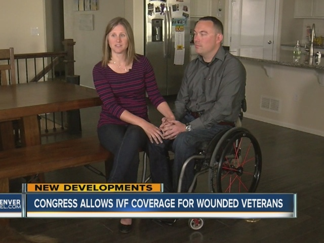 Congress allows in-vitro fertilization coverage for wounded veterans