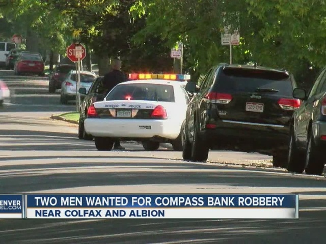 No suspects found in search after bank robbery