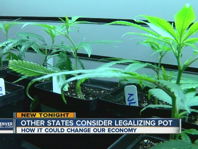 Other states consider recreational marijuana