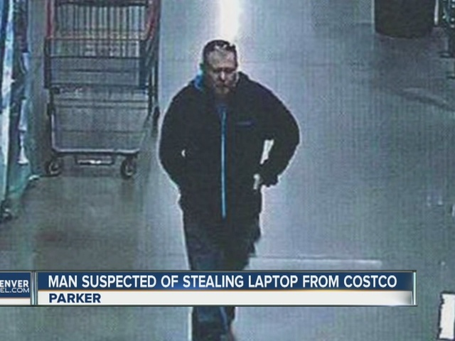 Suspected thief steals $1K laptop from Costco