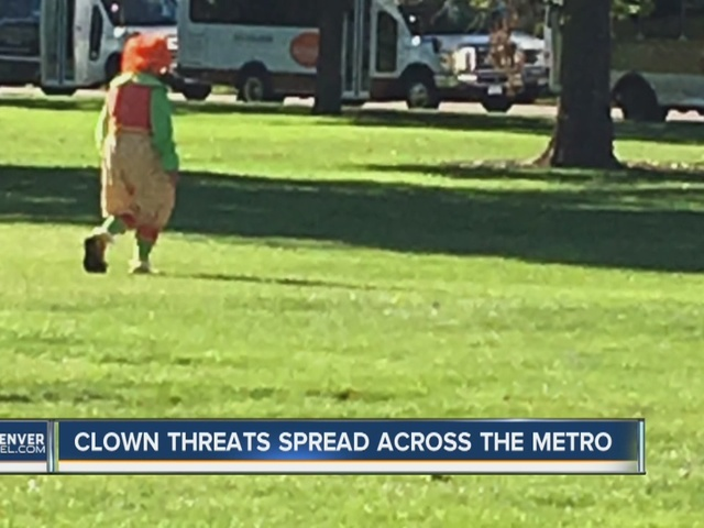 Where creepy clowns have been reported in Colo.