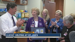 Volunteer gives 17,000+ hours at hospital
