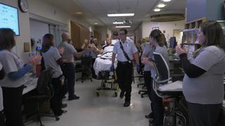 Detective Dan Brite leaves for new hospital