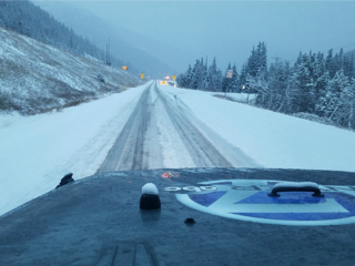 Snow, construction could slow holiday travel