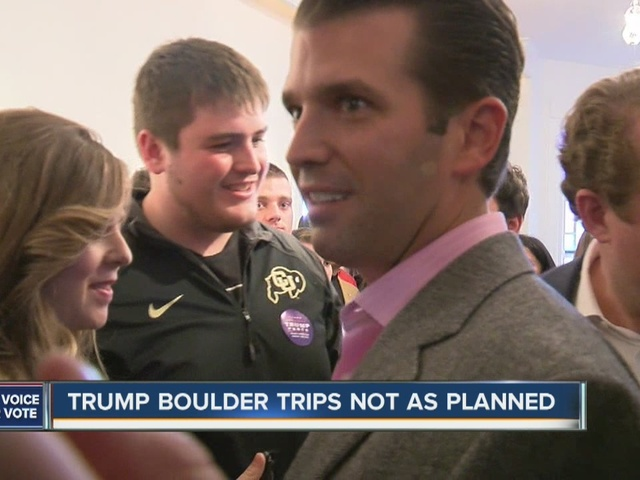Donald Trump Jr under fire