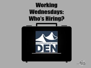 Working Wednesday: DIA is hiring