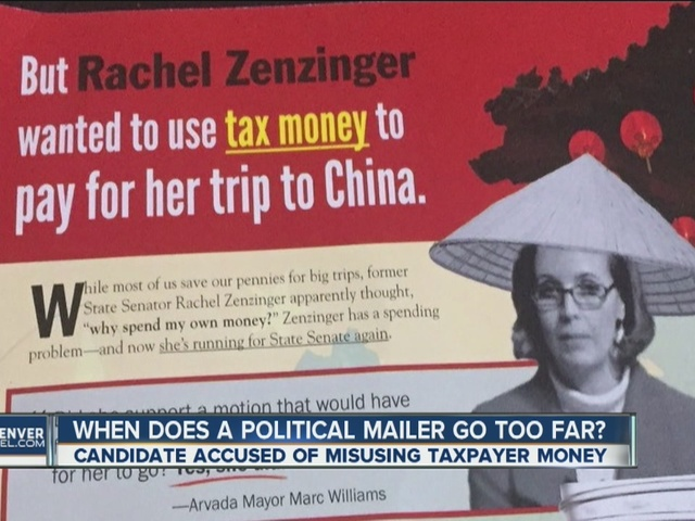 State Sen. candidate wants DA to review mailer