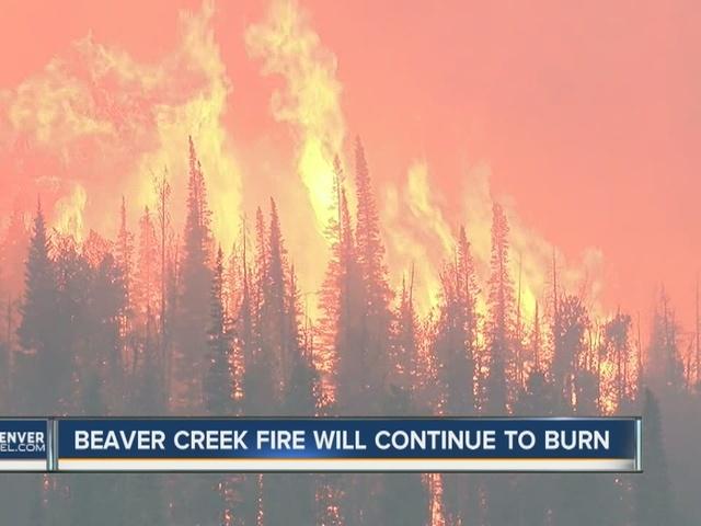 Beaver Creek Fire still smoldering after 4 months