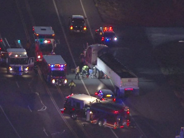 Truck driver run over & killed by own semi