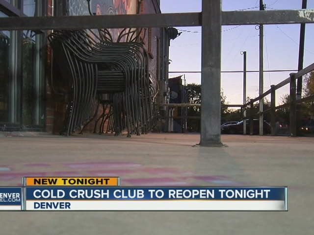 RiNo bar Cold Crush deemed 'nuisance' may reopen Thursday in Denver