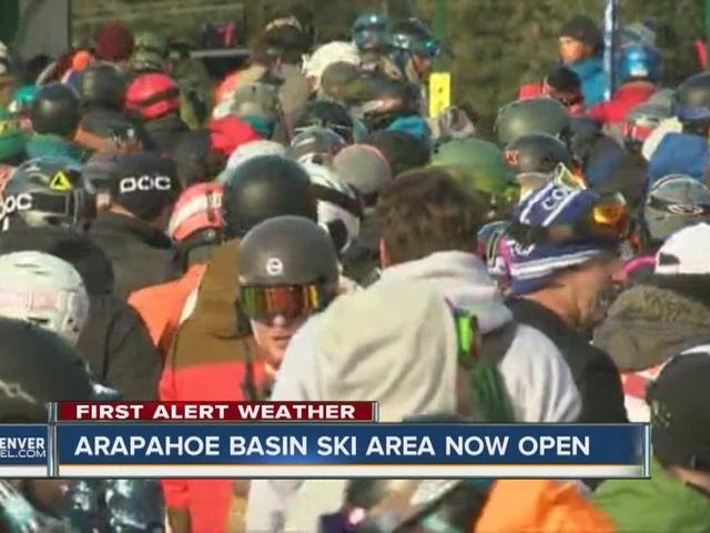 Arapahoe Basin Ski Area opens