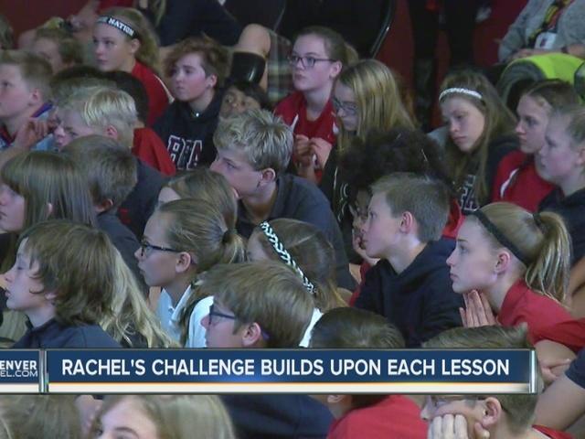 Rachel's Challenge builds upon each lesson