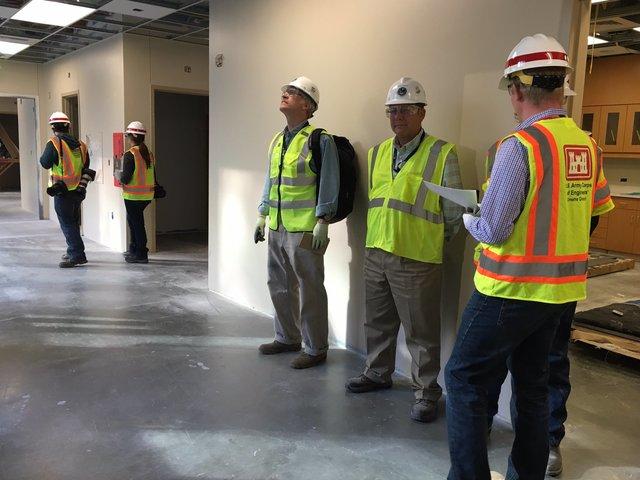 Touring Aurora's unfinished VA hospital