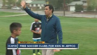Volunteer uses soccer to help Arvada kids