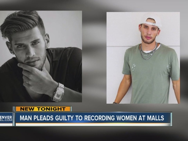 Man pleads guilty to recording women at malls