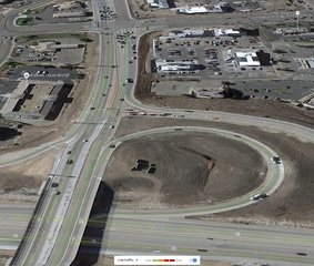 Improvements coming to Meadows Pkwy off I-25
