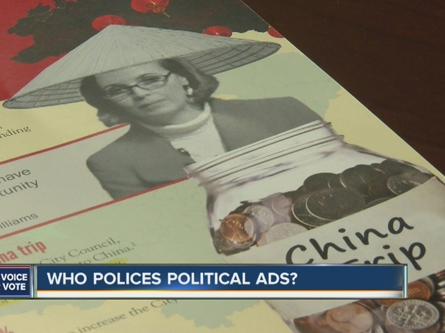 Who polices political ads?
