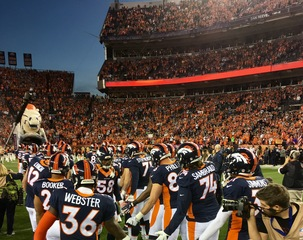 Denver rushed for season-high 190 yards