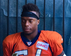 Broncos' Marshall to be honored by Harvard