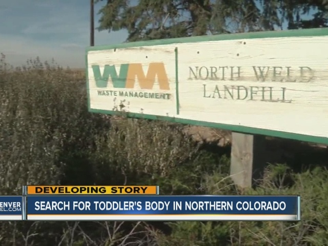 Search for toddler's body in Northern Colorado