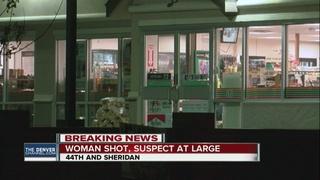 Woman shot in Denver, suspect got away