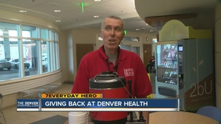 Man goes from patient to volunteer at hospital