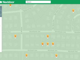 Nextdoor.com offers Halloween Treat Map